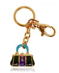 Roberta Di Camerino | Metallic Bagonghi Enamel Brass Charm | Lyst