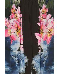 Stella McCartney | Multicolor Hawaiian-print Silk Pants | Lyst