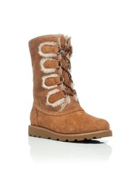 UGG | Brown Rommy Boot | Lyst