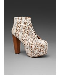 Jeffrey Campbell | Brown Lita | Lyst
