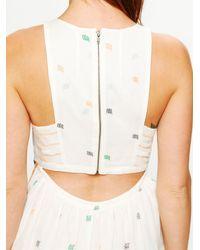Free People | Beige Fp New Romantics Etched Maxi Dress | Lyst