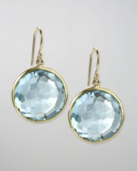 Ippolita | Blue Topaz Lollipop Earrings | Lyst
