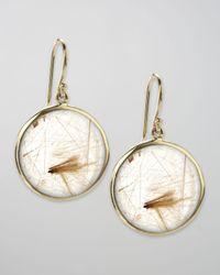 Ippolita - Metallic Drop Earrings, Rutilated Quartz - Lyst