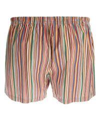 Paul Smith | Multicolor Multi Stripe Woven Boxers for Men | Lyst