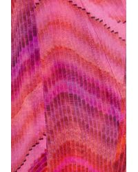 Melissa Odabash | Pink Coleen Printed Silk Kaftan | Lyst
