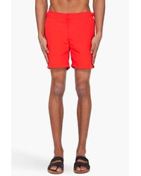 Orlebar Brown | Classic Bulldog Red Swim Shorts for Men | Lyst
