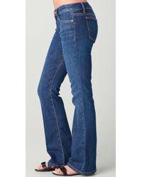 Joe's Jeans - Blue The Provocateur Petite Boot-cut Ryder Jeans - Lyst
