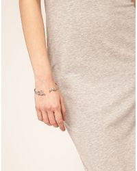 ASOS Collection | Metallic Asos Plug Cuff Bracelet | Lyst