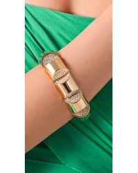 CC SKYE | Metallic Gold Nugget Bracelet | Lyst