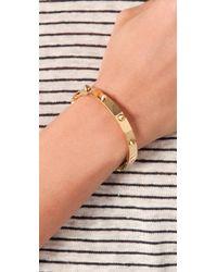CC SKYE   Metallic Mini Spike Bracelet   Lyst