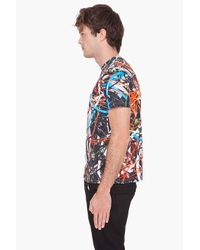 Christopher Kane - Multicolor Mens Multi Cable T Shirt for Men - Lyst