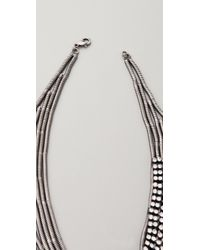 DANNIJO Metallic Galapagos Necklace