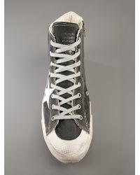 Golden Goose Deluxe Brand Black High Top Sneaker for men