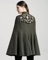 Gryphon - Green Trunk Show Event: Sherlock Cape - Lyst