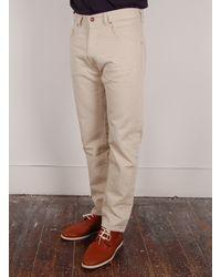 Levi's | Beige Levis Vintage Clothing 519 Bedford Pants for Men | Lyst