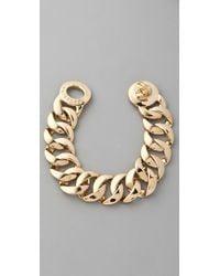 Marc By Marc Jacobs - Metallic Katie Turnlock Bracelet/rose Goldtone - Lyst