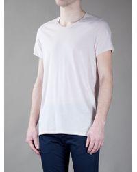 Acne Studios Pink Standard O T Shirt for men