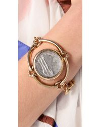 Low Luv by Erin Wasson - Metallic Horse Bit and Coin Bracelet - Lyst