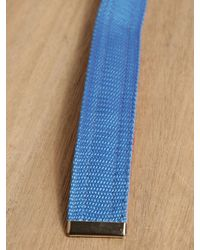 Comme des Garçons Blue Comme Des Garcons Shirt Mens Belt for men