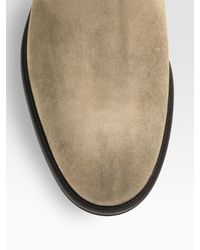 Jimmy Choo - Natural Bedford Suede Boots for Men - Lyst