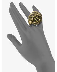 Kelly Wearstler - Metallic Knot Ring - Lyst