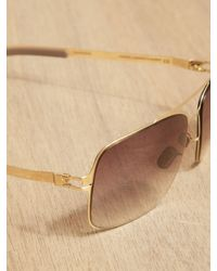 Mykita Metallic Mykita Troy Sunglasses for men