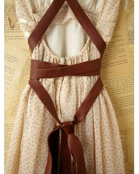 Free People - White Vintage Gunne Sax Dress - Lyst
