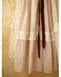 Free People | White Vintage Gunne Sax Dress | Lyst