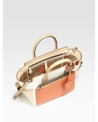 Reed Krakoff - Natural Mini Atlantique Canvas & Leather Tote Bag - Lyst