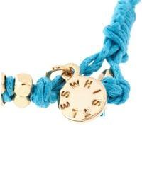 Whistles - Brown Whistles Rana Double Cord Friendship Bracelet - Lyst
