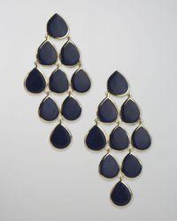 Ippolita - Blue Lapis Cascade Earrings - Lyst