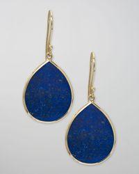 Ippolita   Blue Lapis Teardrop Earrings, Large   Lyst
