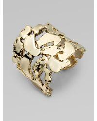 Kara Ross | Metallic Nugget Cuff Bracelet | Lyst