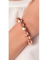 Vanessa Mooney - Metallic Large Nugget Bracelet - Lyst