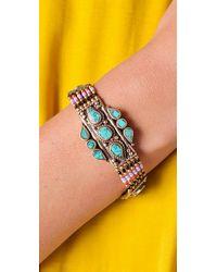 Vanessa Mooney - Pink Large Moonshield Bracelet - Lyst