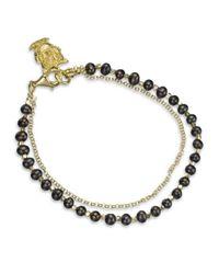 Astley Clarke | Black Pearls Of Wisdom Bracelet | Lyst