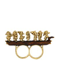 Disney Couture - Metallic Disney Couture 7 Dwarves Ring - Lyst