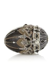 Judith Leiber | Metallic Russian Egg Crystal Clutch | Lyst