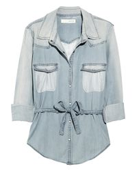 Sass & Bide | Blue The Untamed Shirt | Lyst