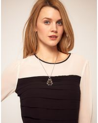 Ted Baker | Pink Beetle Pendant Necklace | Lyst