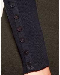 Zara | Gray Turtleneck Jersey | Lyst