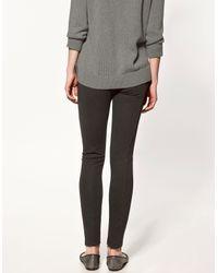 Zara | Gray Leggings | Lyst