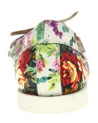 Aldo | Multicolor Aldo Chiou Floral Boat Shoes | Lyst