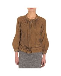 Étoile Isabel Marant - Brown Inko Jacket - Lyst