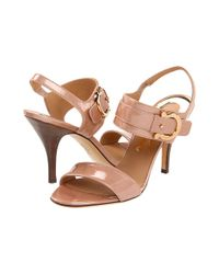 Ferragamo | Brown Sandals Brianna Strappy | Lyst