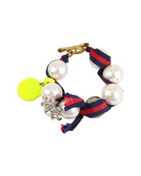 Juicy Couture | Multicolor The Crown Jewels Gumball Pearl Bracelet | Lyst