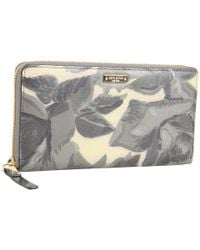 kate spade new york | Gray Willow Place - Lacey Zip Around Wallet | Lyst