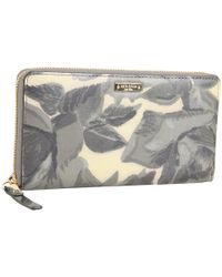 kate spade new york - Gray Willow Place - Lacey Zip Around Wallet - Lyst