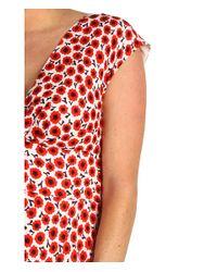 kate spade new york - Multicolor Pippa Floral-print Silk Dress - Lyst