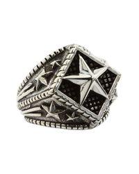 King Baby Studio | Metallic Diamond Star Ring | Lyst